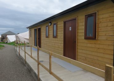 shower and toilet facilities exterior